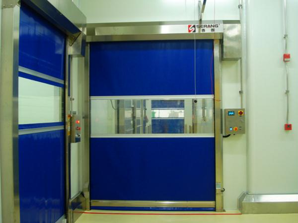 USU304 stainless steel high speed door