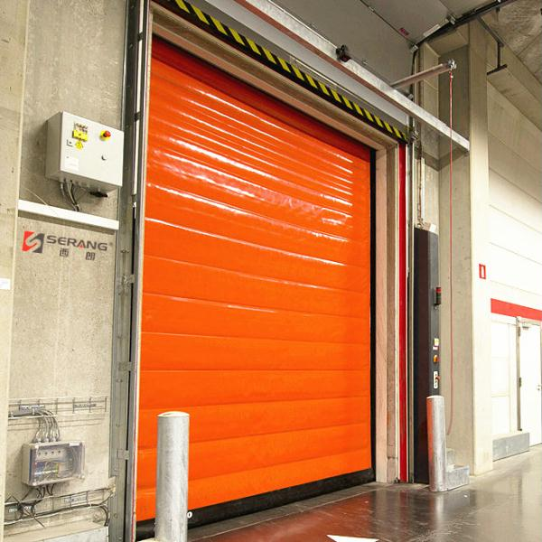 Cold room fast rolling door